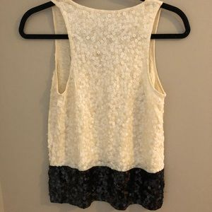 J. Crew Tops - J Crew Sequin Tank Top Blouse